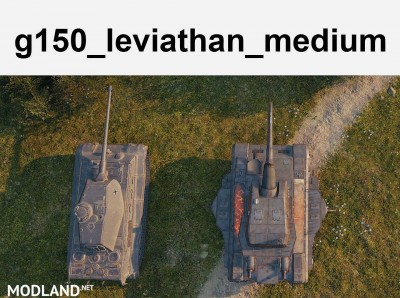 [replaceAnyTank] Leviathan, working turrets (3 size available) 1.0 [1.2.0.2], 2 photo